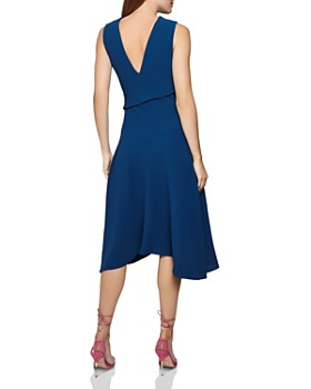 REISS - Marling Sleeveless Draped Dress