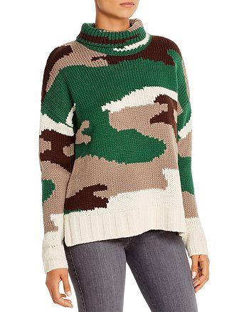 525 America - Camouflage Turtleneck Sweater