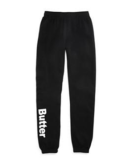 Butter - Girls' Logo Fleece Sweatpants - Little Kid, Big Kid