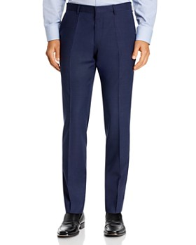 BOSS - Genesis Tonal Check Slim Fit Dress Pants