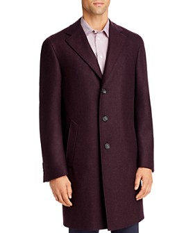 Canali - Kei Mélange Wool Classic Fit Topcoat