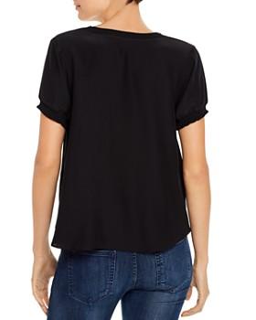 Cinq à Sept - Lenny Short-Sleeve Silk Top