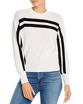 The Fifth Label - Spur Striped Cotton Sweater