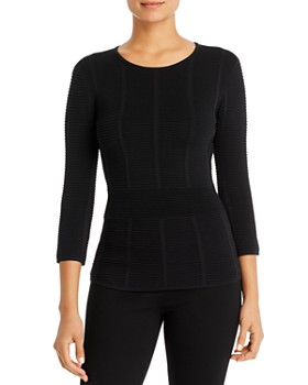 Armani - Ribbed Knit Top
