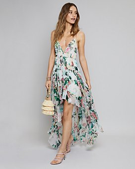 Rococo Sand - Rococo Sand High/Low Dress, Eric Javits Fringe Handbag & More