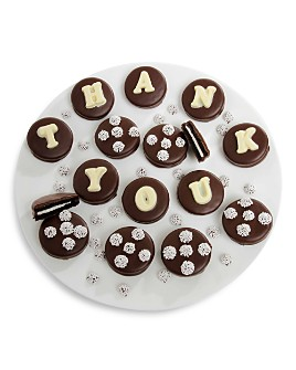 "Chocolate Covered Company - ""THANK YOU"" Belgian Chocolate Sandwich Cookies, 14 Piece"