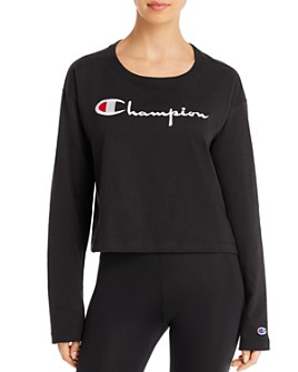 Champion - Logo Cropped Tee