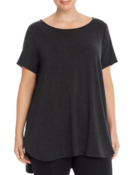 Eileen Fisher Plus - High/Low Tunic Top