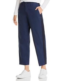 rag & bone - Workman Side-Stripe Wide-Leg Pants