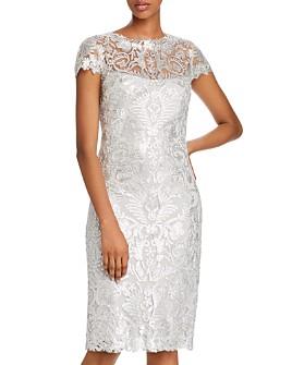 Tadashi Shoji - Cap-Sleeve Sequined Dress - 100% Exclusive