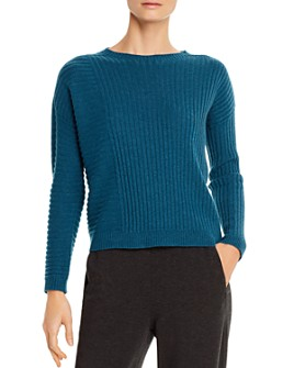 Eileen Fisher Petites - Ribbed Cashmere Sweater