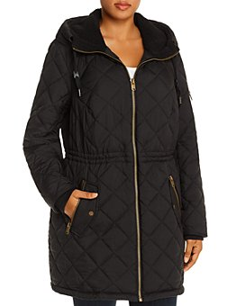 Marc New York Plus - Cascade Hooded & Quilted Parka