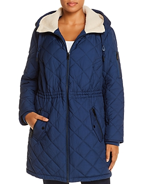 Cascade Hooded & Quilted Parka