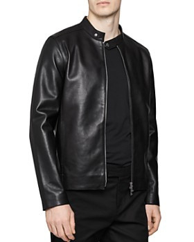 REISS - Keith Leather Jacket