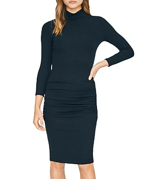 Sanctuary - Ruched Turtleneck Dress
