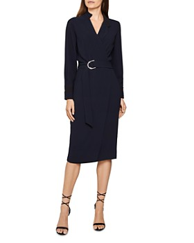 REISS - Frances Tux Shirt Dress