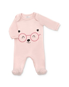 Tun Tun - Girls' Bear Face Footie - Baby