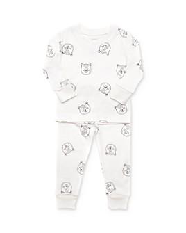 Tun Tun - Unisex Bear Print Top & Pants Pajama Set - Baby