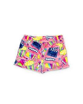 Candy Pink - Girls' Movie Print Pajama Shorts - Little Kid, Big Kid