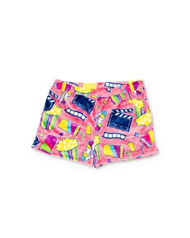 Candy Pink - Girls' Movie Print Pajama Shorts - Little Kid, Big Kid