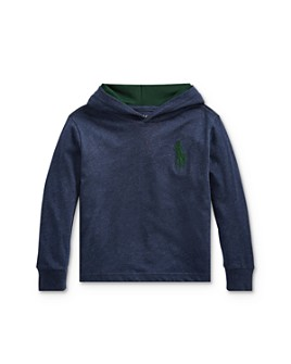 Ralph Lauren - Boys' Big Pony Hooded Tee - Little Kid