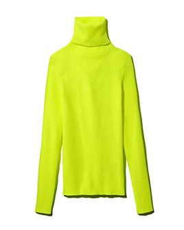MSGM - Ribbed Turtleneck Sweater