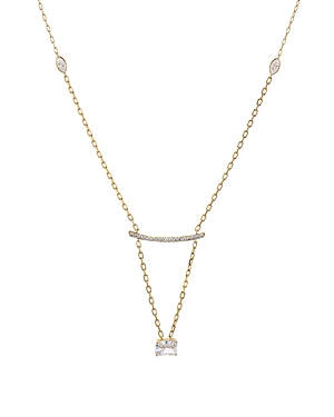 Nadri Rae Long Frontal Bar Necklace, 24-Jewelry & Accessories