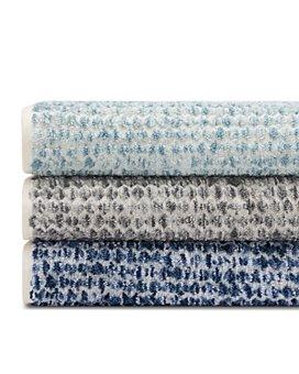 Hudson Park Collection - Space Dye Sculpted Towels