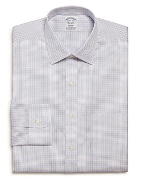 Brooks Brothers - Tattersall Check Regular Fit Dress Shirt