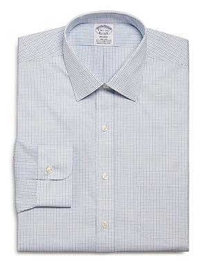 Tattersall Check Regular Fit Dress Shirt