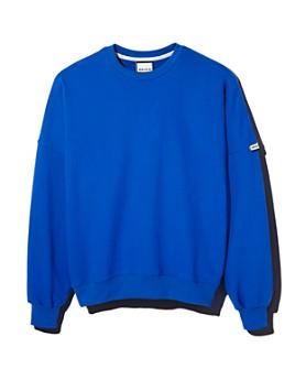 HEICH BLADE by W CONCEPT - Slogan Oversize Sweatshirt