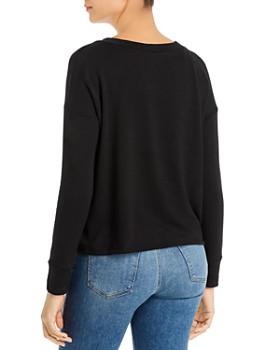 Elan - Tie-Front Sweatshirt
