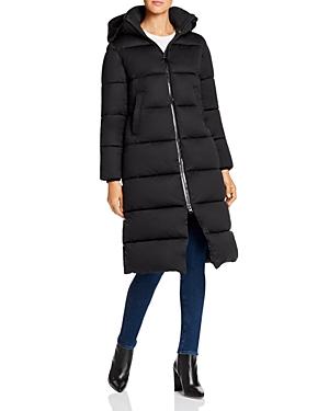 Save The Duck Long Puffer Coat-Women