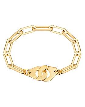 Dinh Van - 18K Yellow Gold Menottes Chain Bracelet