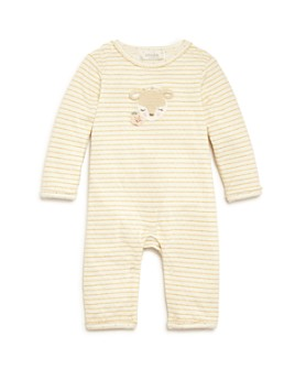 Albetta - Girls' Crochet Deer Coverall - Baby