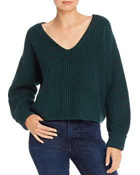 FRENCH CONNECTION - Millie Mozart V-Neck Sweater