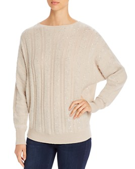 Fabiana Filippi - Sequined Cashmere Sweater