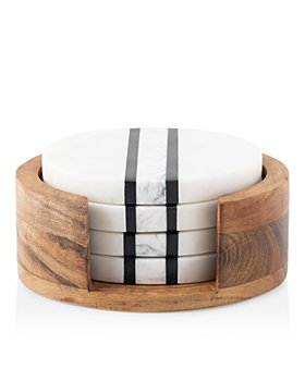 Juliska - Stonewood Stripe Coaster Set
