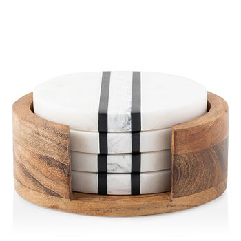 Juliska - Stonewood Stripe Coaster Set