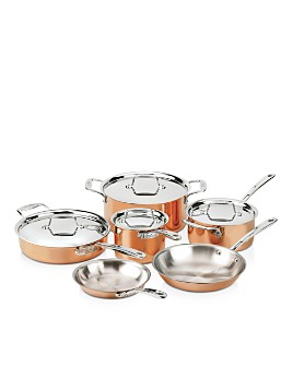 All-Clad - c4 Copper 10-Piece Set C40010