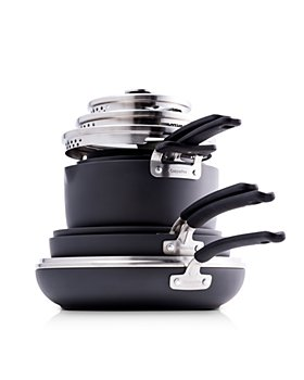 GreenPan - Levels 11-Piece Hard Anodized Stackable Ceramic Nonstick Set