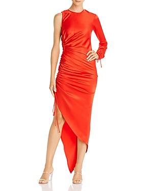 David Koma Asymmetric Drawstring Dress