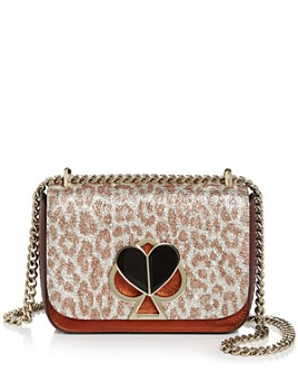 kate spade new york - Nicola Small Leopard-Print Convertible Shoulder Bag