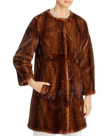 Maximilian Furs - Mink Fur Coat - 100% Exclusive