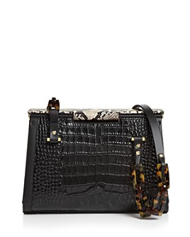 Nico Giani - Olivia Croc-Embossed Shoulder Bag