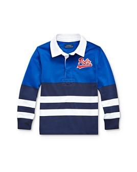Ralph Lauren - Boys' Striped Color-Block Rugby Shirt - Little Kid