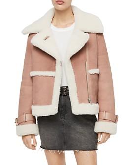 ALLSAINTS - ALLSAINTS X Farley Shearling Moto Jacket - 100% Exclusive