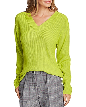 Vince Camuto Sweaters Ribbed V-Neck Sweater