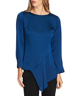 VINCE CAMUTO - Hammered Satin Blouse - 100% Exclusive