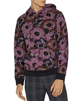 COACH - x Kaffe Paisley Hooded Sweatshirt